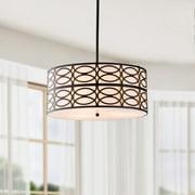 The Lighting Store Indoor 3-light Black Pendant Chandelier