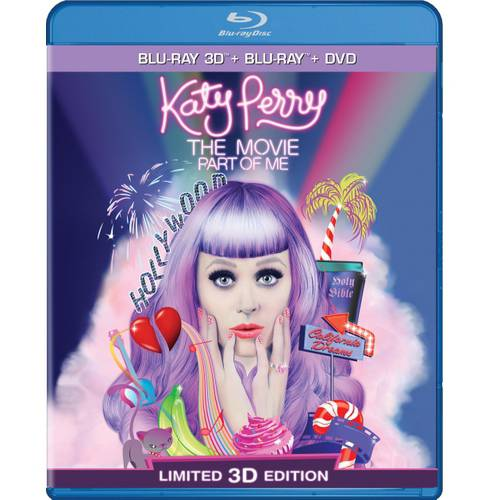 Katy Perry: Part Of Me 3D (Blu-ray 3D + Blu-ray) (Widescreen)