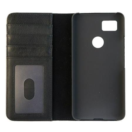reputable site b64d0 a05da Case-Mate Wallet Folio Series Leather Case Cover for Google Pixel 2 XL -  Black