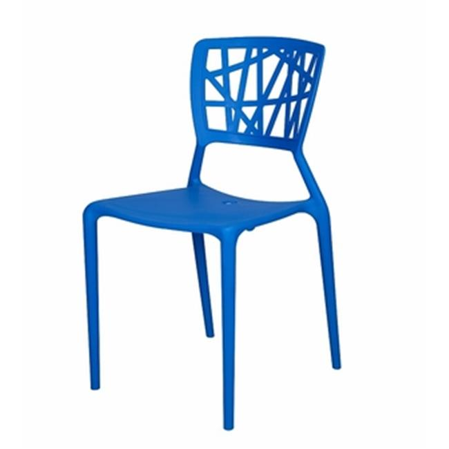 Source Contract sc-2602-162 Phoenix Dining Side Chair, Blue