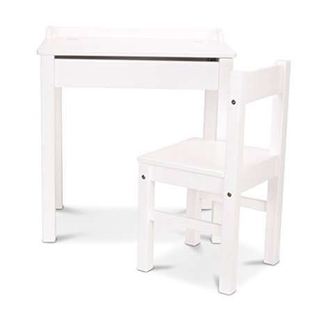 Melissa Doug Lift Top Kids Writing Desk With Chair Multiple Finishes