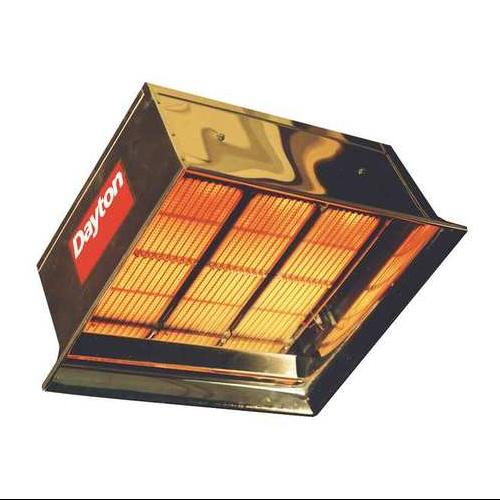 Commercial Infrared Heater, Dayton, 3E462