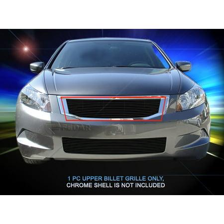 Honda Accord Billet Grille - Fedar Main Upper Billet Grille For 2008-2010 Honda Accord Sedan
