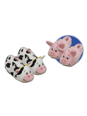 91988dd14d9 Product Image Girl s Pig Cow 2.0 Slippers. FlipaZoo