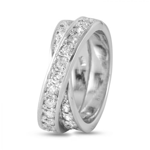 Foreli 1.5CTW Diamond 14K White Gold Ring