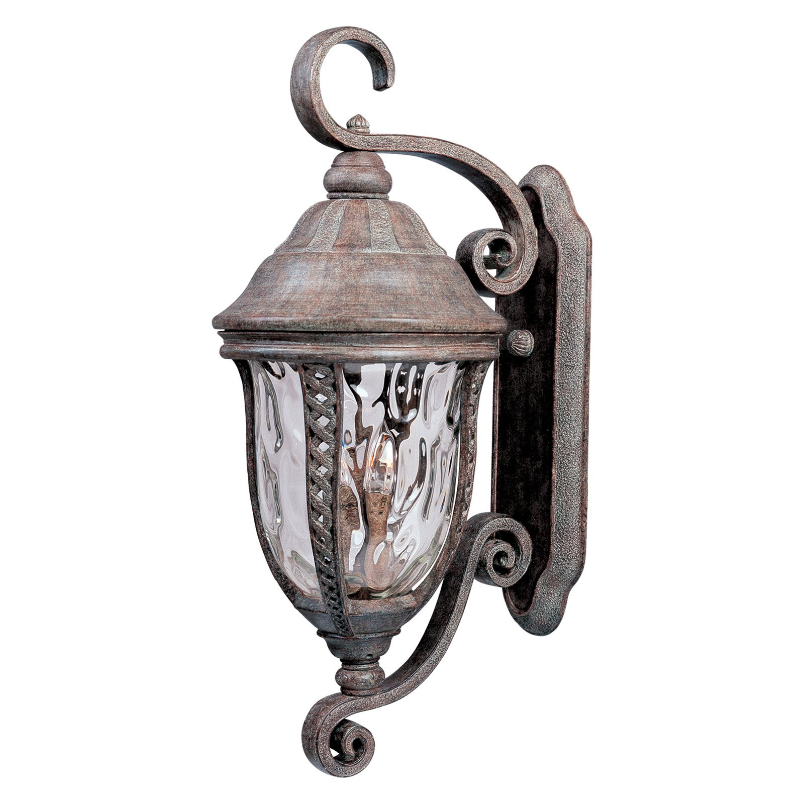 Maxim Whittier DC Outdoor Hanging Wall Lantern - 30.5H in. Earth Tone
