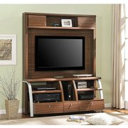 Altra Essex Henna and Silver Home Entertainment Center for TVs up to 60""