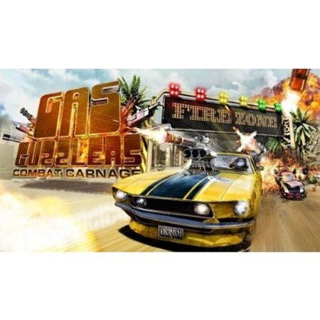 Gamespire Gas Guzzlers: Combat Night Racing (PC)