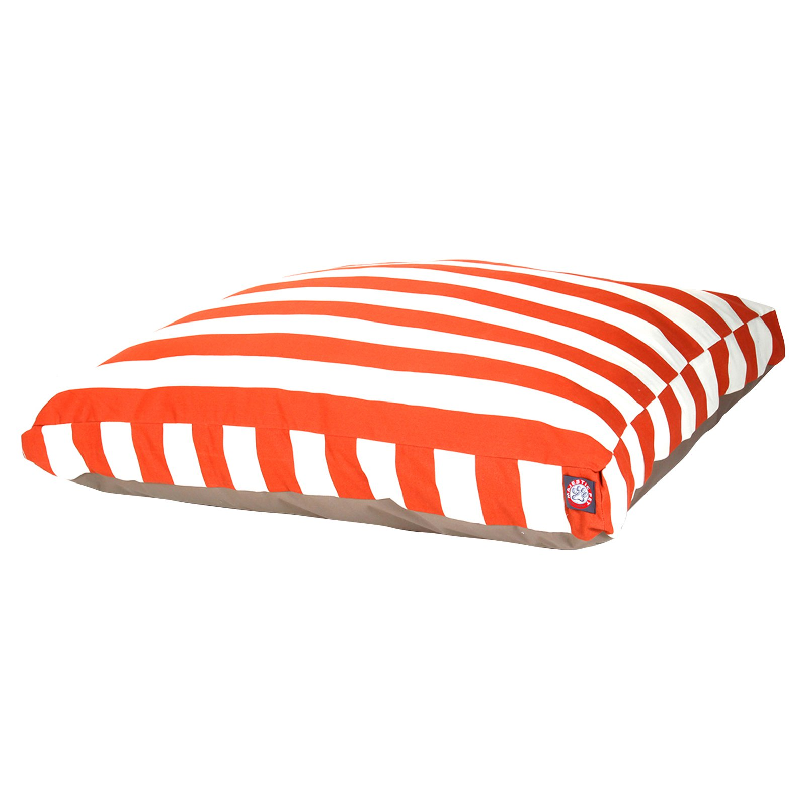 Majestic Pet Striped Rectangle Pet Bed
