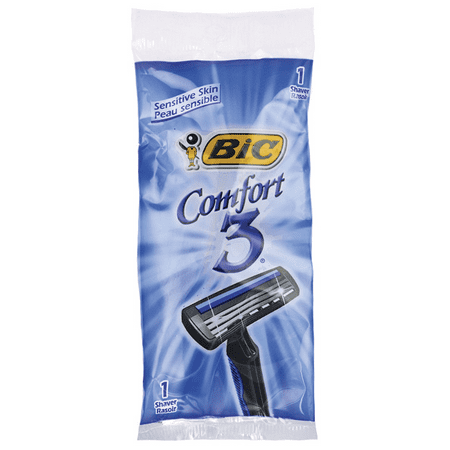 Bic Comfort 3 Razor for Men - Sensitive Skin 1 Ct