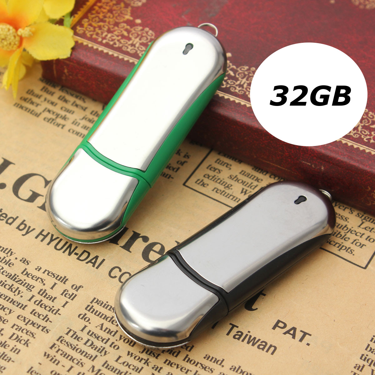 32GB USB 2.0 Flash Memory Stick Thumb Drive Storage Data Pen U Disk Gifts,Black color