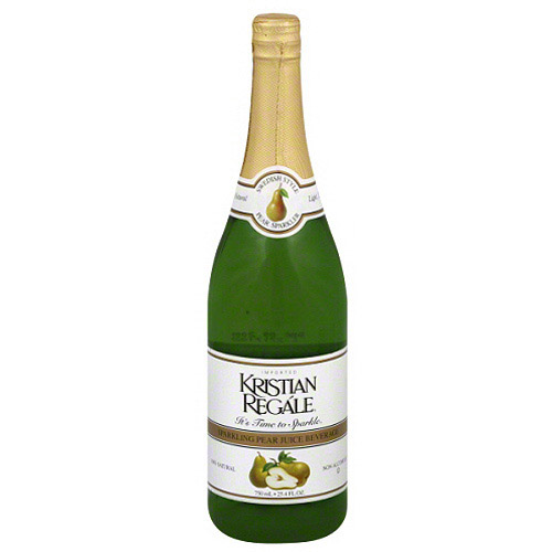 Kristian Regale Sparkling Pear Juice Beverage, 25.4 fl oz, (Pack of 12)