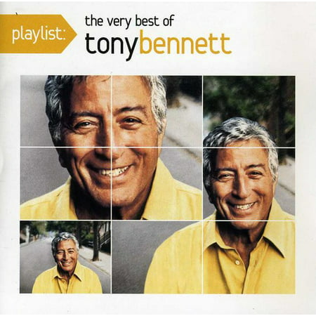 Playlist: The Very Best of Tony Bennett (CD) (Best T Disc Flavors)