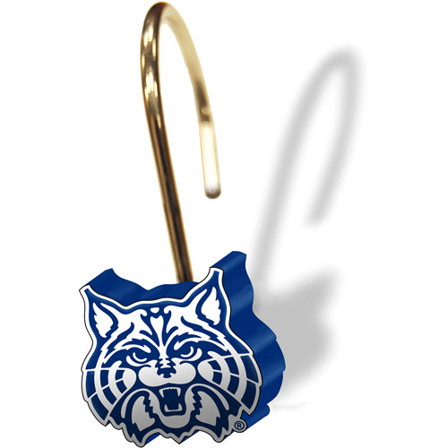 NCAA Arizona Wildcats Shower Curtain Rings, 12-Pack