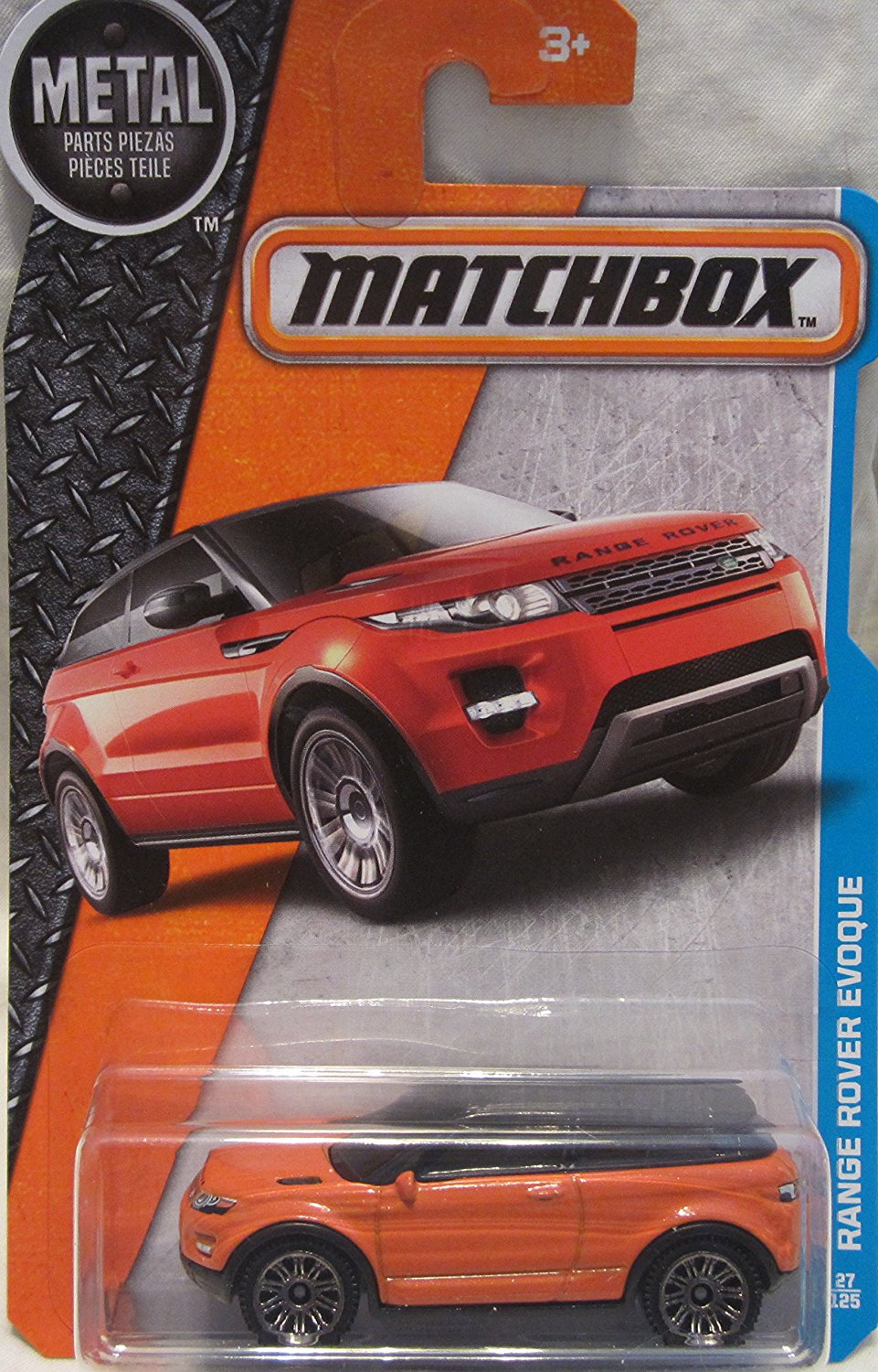 2016 MBX Adventure City Range Rover Evoque 27 1251:64 Scale By Matchbox by