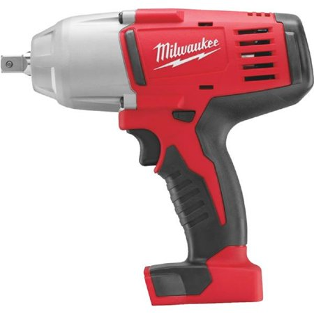 Milwaukee M18 18-Volt Lithium-Ion 1/2 In. High Torque Cordless Impact Wrench with Pin Detent (Bare Tool)