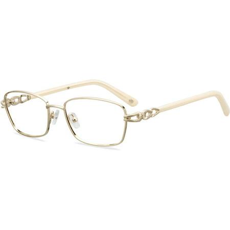 - Rose Womens Prescription Glasses, AR06 Gold