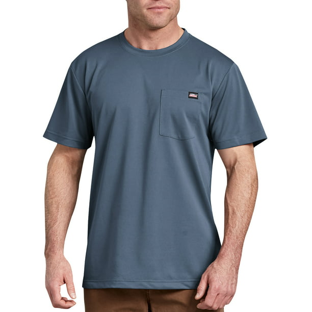 Genuine Dickies Men's Short Sleeve Performance Pocket T-Shirt