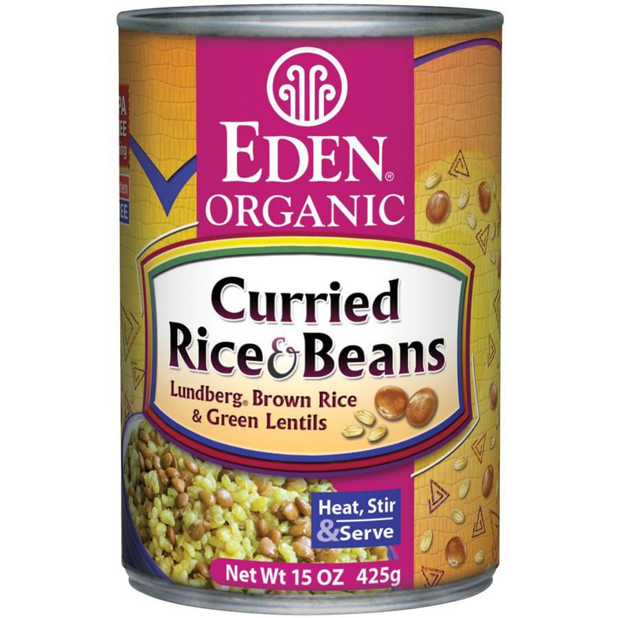 Eden Curried Rice & Lentils, Organic, 15 Ounce (Pack of 6)