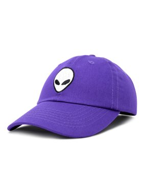 1f1f58eb Product Image DALIX Alien Head Baseball Cap Mens and Womens Hat in Light  Pink. Product Variants Selector. Purple