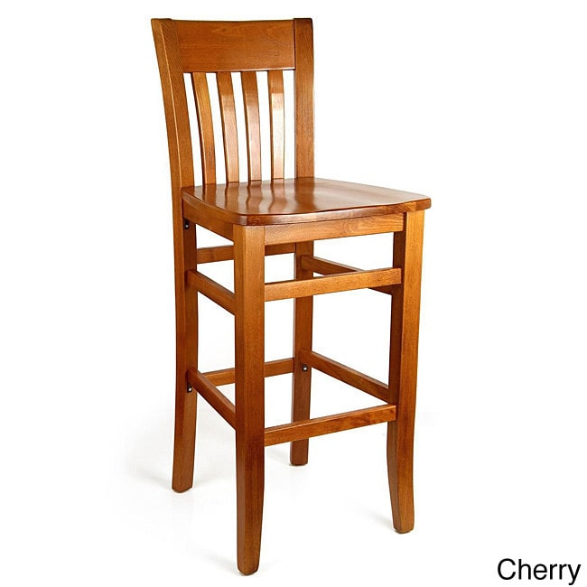 Beechwood Mountain Jacob Beechwood Bar Stool by Overstock