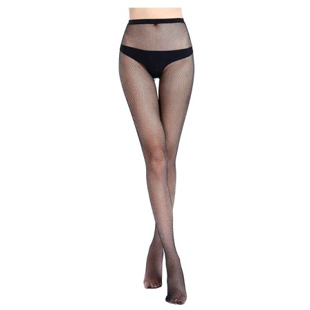 Clearance Women Girl Sexy Fishnet Stockings Net Grid Pantyhose Mesh Tights Elastic Hollow Out Hosiery Leggings Long Socks