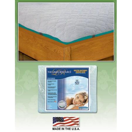 Anchor Band Waterbed Mattress Protector Pad Waterbed