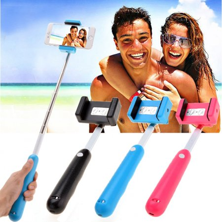 new selfie stick light with built in bluetooth rechargeable battery. Black Bedroom Furniture Sets. Home Design Ideas