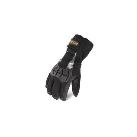 Ironclad CCT2-03-M, Tundra 2 Glove, Black, M