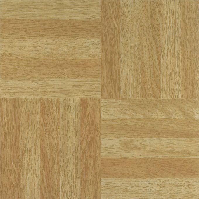 Nexus Four Finger Square Parquet 12x12 Self Adhesive Vinyl Floor Tile - 20 Tiles/20 sq. ft.