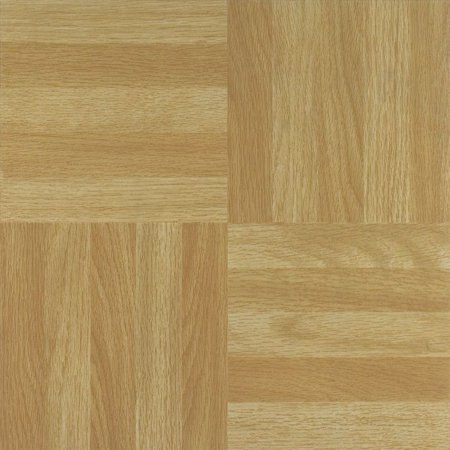 Nexus Four Finger Square Parquet 12x12 Self Adhesive Vinyl Floor Tile 20 Tiles