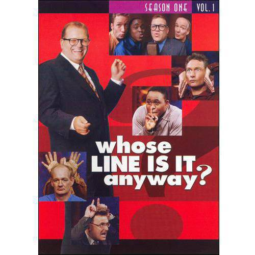 WHOSE LINE IS IT ANYWAY-SEASON 1 V01 (DVD/2 DISC/P&S-1.33/FR-SP SUB)