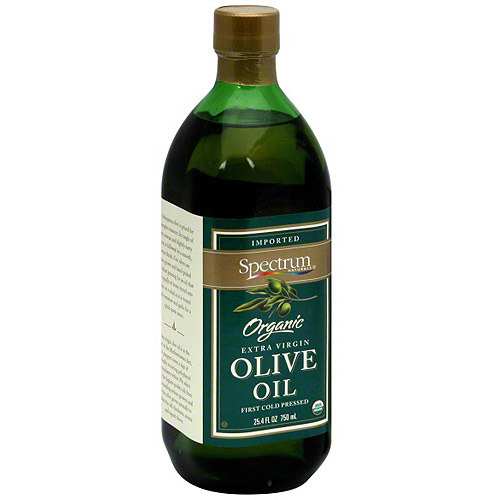 Spectrum Organic Extra Virgin Olive Oil, 25.4 oz (Pack of 6)