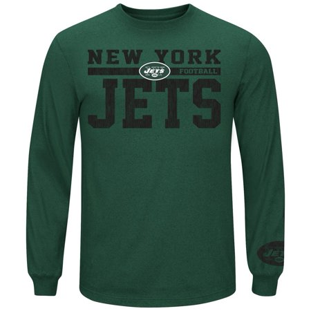 Mens Victory Pride Long Sleeve New York Jets NY T-Shirt by