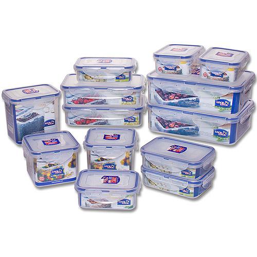 Lock Lock 26 Piece BPA free Airtight Container Set Walmartcom
