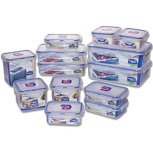 Lock U0026 Lock 26 Piece BPA Free Airtight Container Set   Walmart.com
