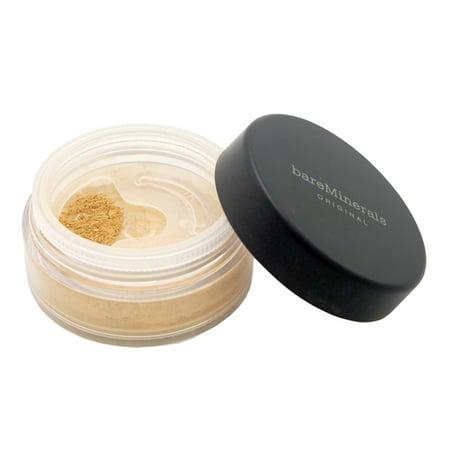 Bareminerals Original Loose Powder Mineral Foundation SPF 15, Golden Medium, 0.28