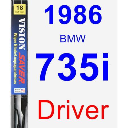 - 1986 BMW 735i Driver Wiper Blade - Vision Saver