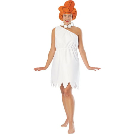 Flintstones Wilma Adult Halloween Costume (Flintstone Halloween Costume)
