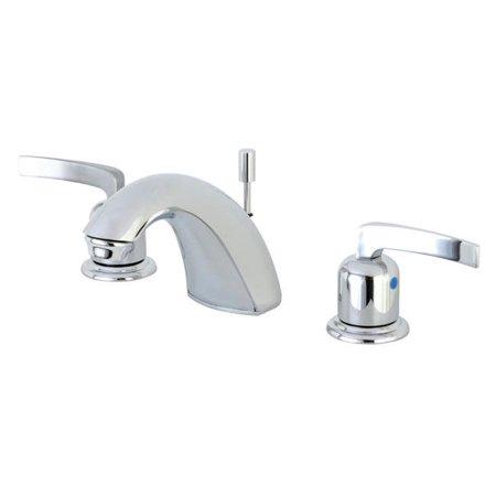Kingston Brass FB8951EFL Centurion Mini Widespread Lavatory Faucet, Polished Chrome - 13.48 x 9.9 x 3.34 in. - image 1 de 1