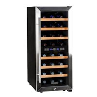 "Koldfront Twr247e 14"" Wide 24 Bottle Wine Cooler - Stainless Steel"