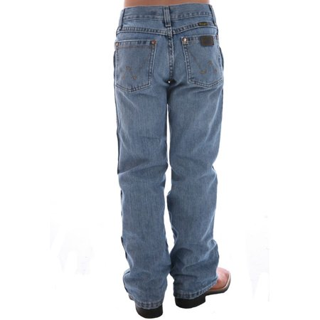 Wrangler Apparel Boys  Retro Ocean Water Wash Jean - Boys Retro
