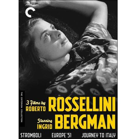3 Films By Roberto Rossellini Starring Ingrid Bergman: Stromboli / Europe 51 / Journey To Italy (Criterion Collection)