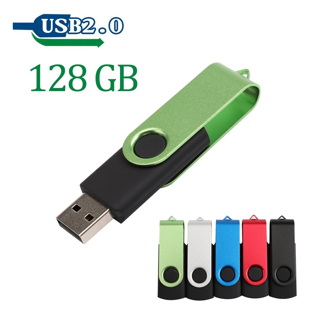 USB Flash Drive USB2.0 U Disk Pendrive High Speed External Memory Stick,green