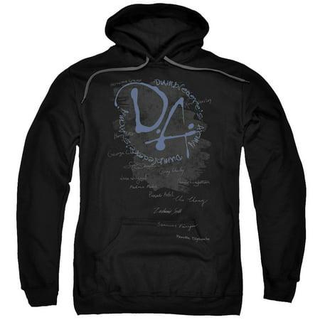 Trevco HARRY POTTER Black Adult Unisex Hooded Sweatshirt Black Adult Hooded Sweatshirt