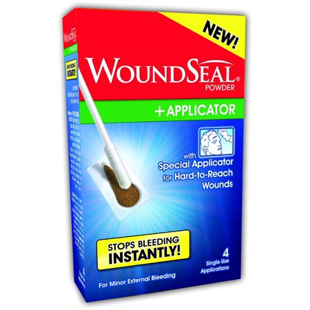 WoundSeal Powder and Applicator (4 single use applications), You will receive (1) WoundSeal Powder and Applicators Kits (4 applications total) By Biolife LLC