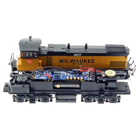 MRC HO Drop-In Sound Decoder: Athearn MP15 For DC And (Digitrax Dcc Ho Scale Decoder)