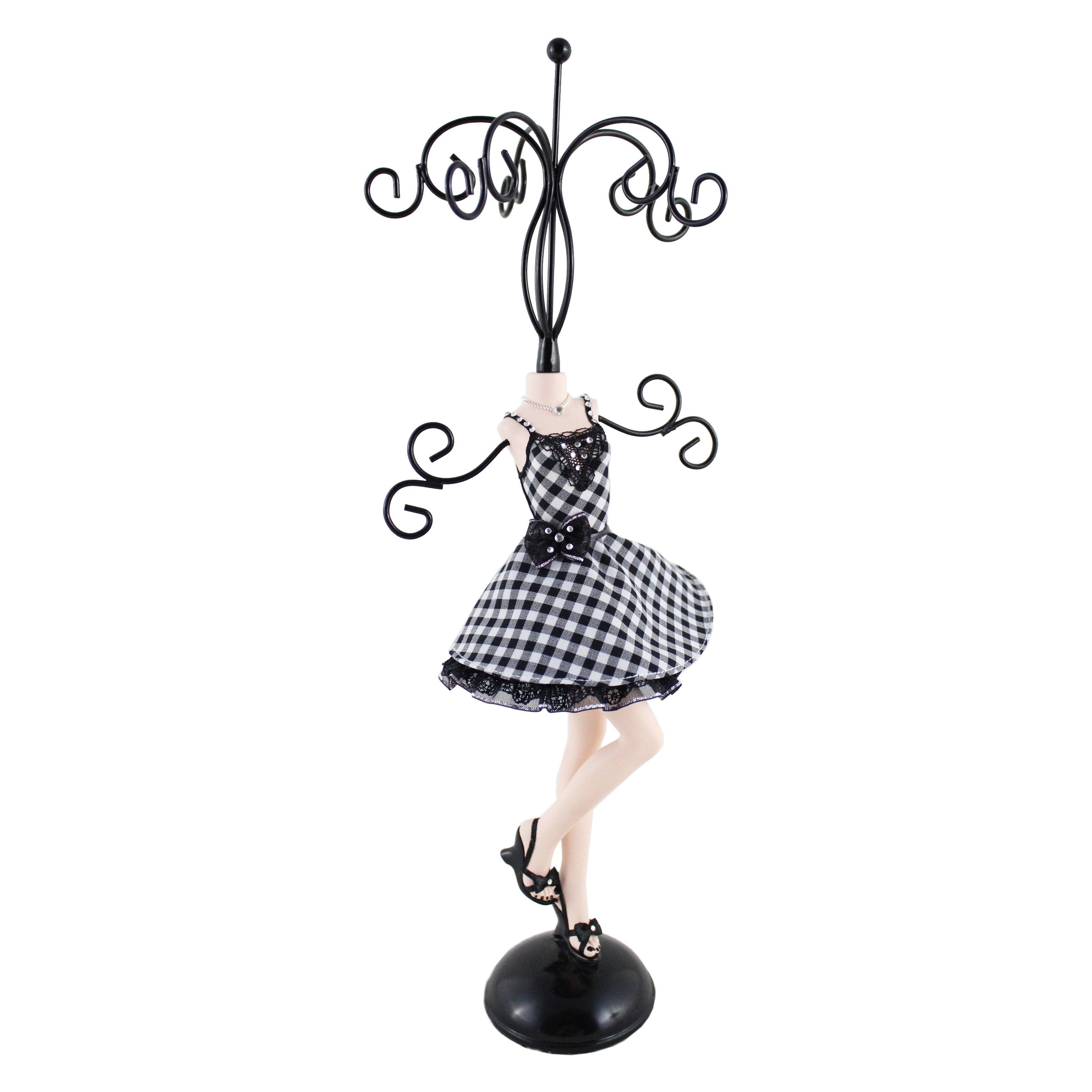 Retro Plaid Mannequin Small