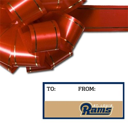 Classic St. Louis Rams WinCraft Set of 10 Adhesive Gift Tags - No Size