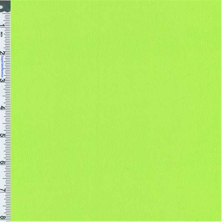 Acid Lime Crepe Weave Rayon, Fabric Sold By the Yard